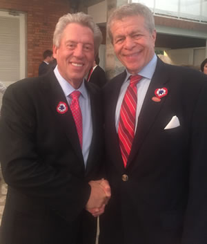 John C. Maxwell and Mitch Tublin in Paraguay